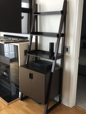 Ladder shelf bookcase storage for Sale in Chicago, IL