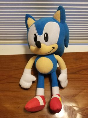 """Sonic the Hedgehog 9"""" Plush figure Toy Factory for Sale in Vacaville, CA"""
