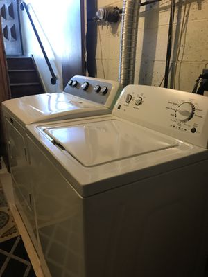 Washer and dryer (kenmore washer and dryer is bravo) for Sale in Jersey City, NJ
