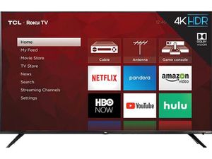 TCL 55' SMART 4K ROKU UHD LED TV - HOT DEAL for Sale in Acworth, GA