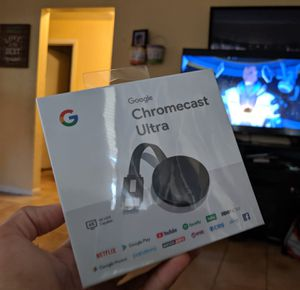 Chromecast ultra for Sale in Clearwater, FL