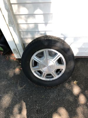 Two Toyota rims with good condition with Bridgestone winter tires for Sale in Saugus, MA