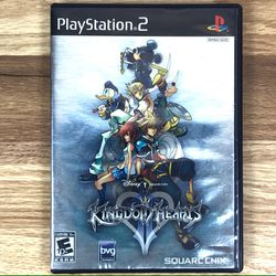 Kingdom Hearts II 2 PS2 Video Game for Sale in Pahrump,  NV