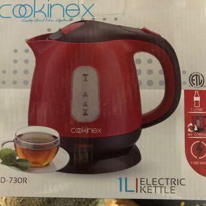 1 L Electric Kettle Cookinex 360 cordless 1100 W New in box 📦 never used. for Sale in La Mesa, CA