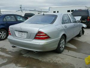 2002 MERCEDES S430 FOR PARTS W220 S CLASS S430 S500 S600 S55 AMG for Sale in Dallas, TX