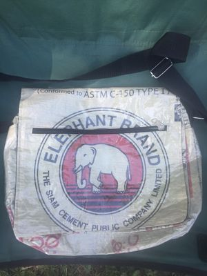 Elephant Concrete Recycled Handbag / Deluxe Messenger Bag for Sale in Keizer, OR