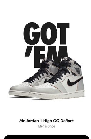 Jordan 1 High Defiant SB NYC to Paris Deadstock With reciept size 10.5 for Sale in Fort Lauderdale, FL