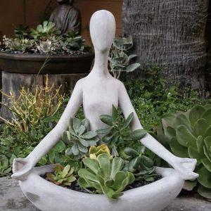 Meditating Zen Yogi Concrete Planter for Sale in Tempe, AZ