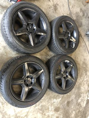 18 inch Mercedes Benz rims and tires for Sale in Boston, MA