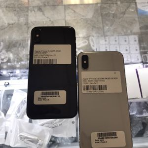 iPhone X 64GB Factory Unlocked📲 for Sale in Fort Worth, TX