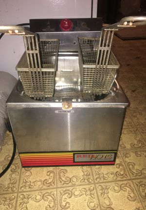 120v Double basket stainless steel Deep Fat Fryer for Sale in DeQuincy, LA