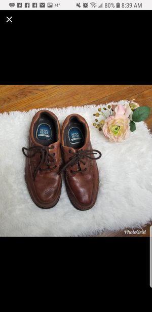 Nunn Bush Mens Leather Shoes Gel Insoles for Sale in Quincy, IL