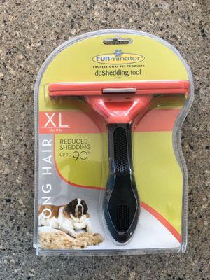 Furminator Dog Deshedding Brush XL for Sale in Nashville, TN