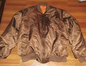 Flight jacket sz3X. Great condition. Pick up. Harlem. Cash. Firm price. If you're not buying today, don't send msgs. Thanks for Sale in Edgewater, NJ