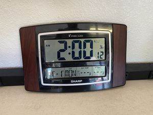 Sharp Atomic Clock for Sale in Mesquite, TX