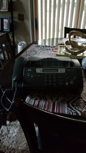 Hp fax machine 1010 for Sale in Fort Wayne, IN
