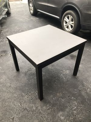 Black wood fold out table for Sale in Davie, FL