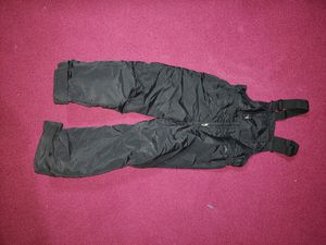 Bib overalls and puff coat for Sale in Antioch, CA