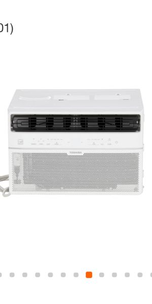 BRAND NEW AC WINDOW TOSHIBA 10,OOO BTU SMARTPHONE CONTROL VOICE CONTROL ENERGY SAVER FOR ANY QUESTION TEXT ME PLEASE. for Sale in Los Angeles, CA