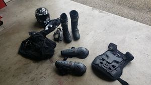 Motorcycle gear boots oneal troy lee scott for Sale in Tualatin, OR