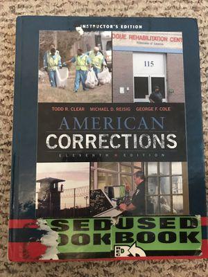 American Corrections 11th Edition for Sale in Santa Maria, CA
