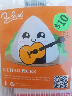 Guitars pick 9 pcs. for Sale in Santa Ana, CA