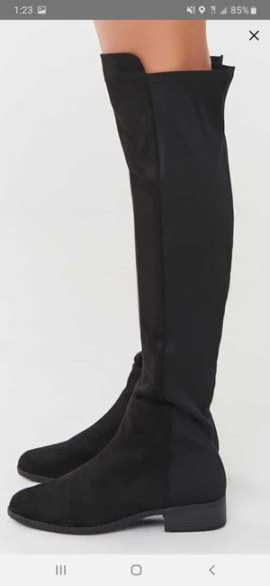 Black boots size 10 for Sale in Riverside, CA