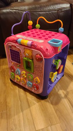 Vtech activity cube for Sale in San Angelo,  TX