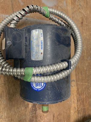 3 phase motor 5 hp for Sale in Saint Hedwig, TX