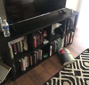 Ikea bookshelve, chair , and full size bed frame. for Sale in Atlanta, GA
