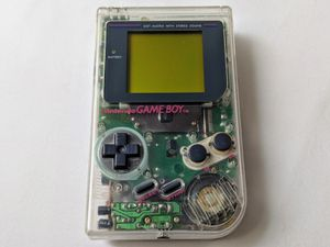 Original Nintendo Gameboy Clear Special Edition 1989 Fully Working in Original Clear Case for Sale in New York, NY