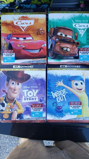 4k movies no codes asking $15 each for Sale in Davenport, FL