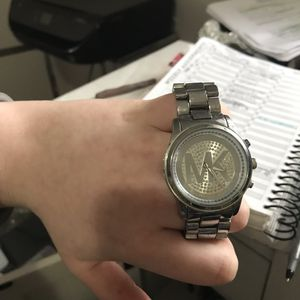 Silver Women's Michael Kors Watch for Sale in Bloomington, IL