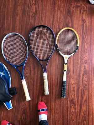 Tennis rackets $5 each for Sale in Hawthorne, CA