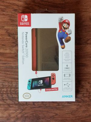 Nintendo Switch Powercore 20100 Charge and Play Power Block by Anker for Sale in Seattle, WA