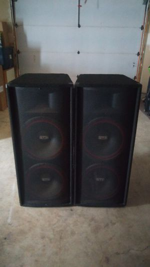 Sound Tech Pro Audio Speakers for Sale in Vancouver, WA