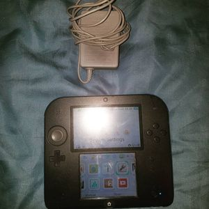 Nintendo 2DS blue black + charger for Sale in Scituate, RI