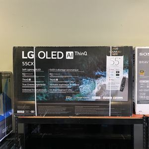 55 INCH LG OLED CX AI THIN Q SMART 4K TVS GAMING TV SALE for Sale in Glendale, CA