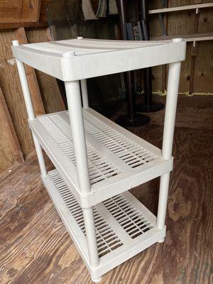 Plastic shelf for Sale in Deltona, FL