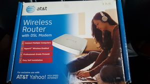 Wireless Router AT&T 2wire DSL Modem 2701HG-B for Sale in US