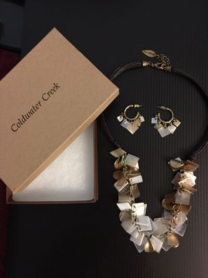 Coldwater creek necklace and earring set for Sale for sale  Burnsville, MN