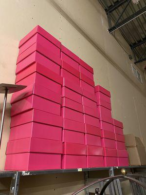 Pink boxes for Sale in Sebastian, FL