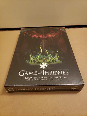 NEW Game of Thrones 1,000 piece premium puzzle Long May She Reign for Sale in San Diego, CA