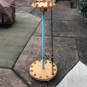 Fishing Rod Cart for Sale in Seattle, WA