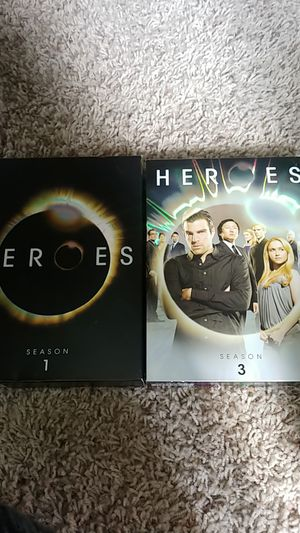 Heroes season 1 and 3 for Sale in Seattle, WA