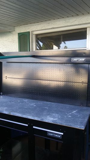 Craftsman 52in work bench with hutch and drawers for Sale in Port Richey, FL