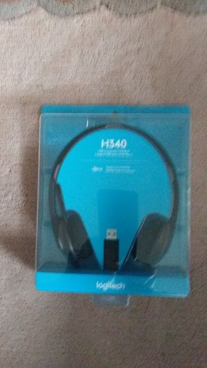 Logitech H340 USB Computer Headset for Sale in Auburn, WA