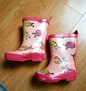 Toddler size 4 rain boots for Sale in Hayward, CA