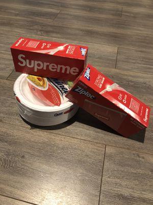 Supreme ziplock for Sale in Jacksonville, FL