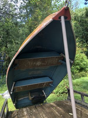 15' Montgomery ward sea king aluminum boat. No motor with deal. Taking best offers. for Sale in Elkridge, MD
